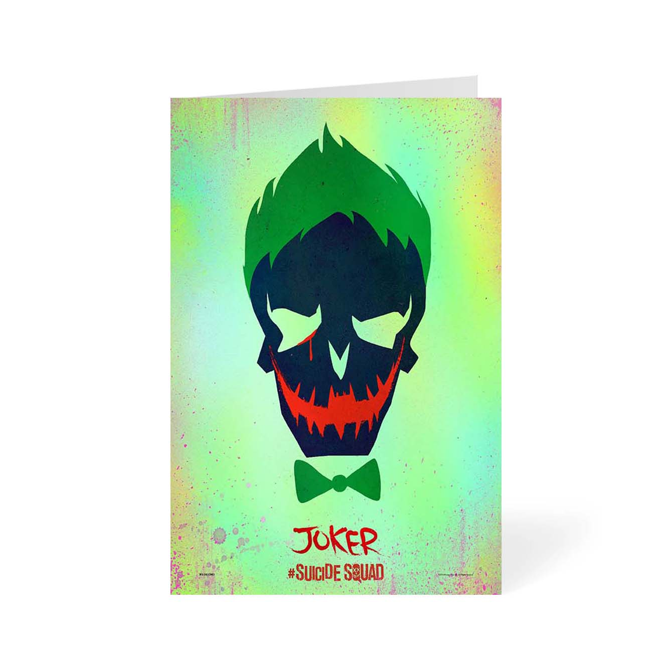Suicide Squad Movies Greeting Card Online