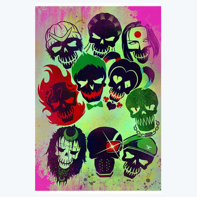 Suicide Squad Movies Posters