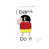 I Didn't Do It Cartoon Greeting Card Online