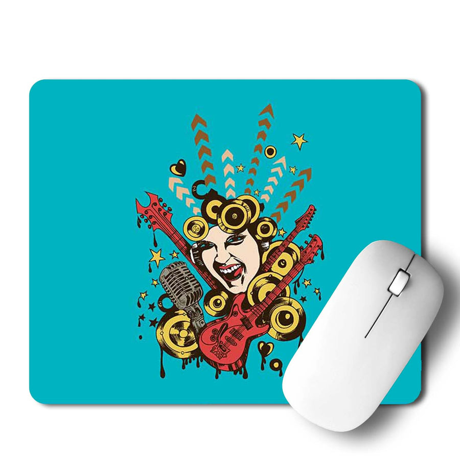 Pop Music Mouse Pad