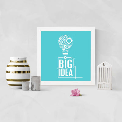 Big Idea Framed Poster