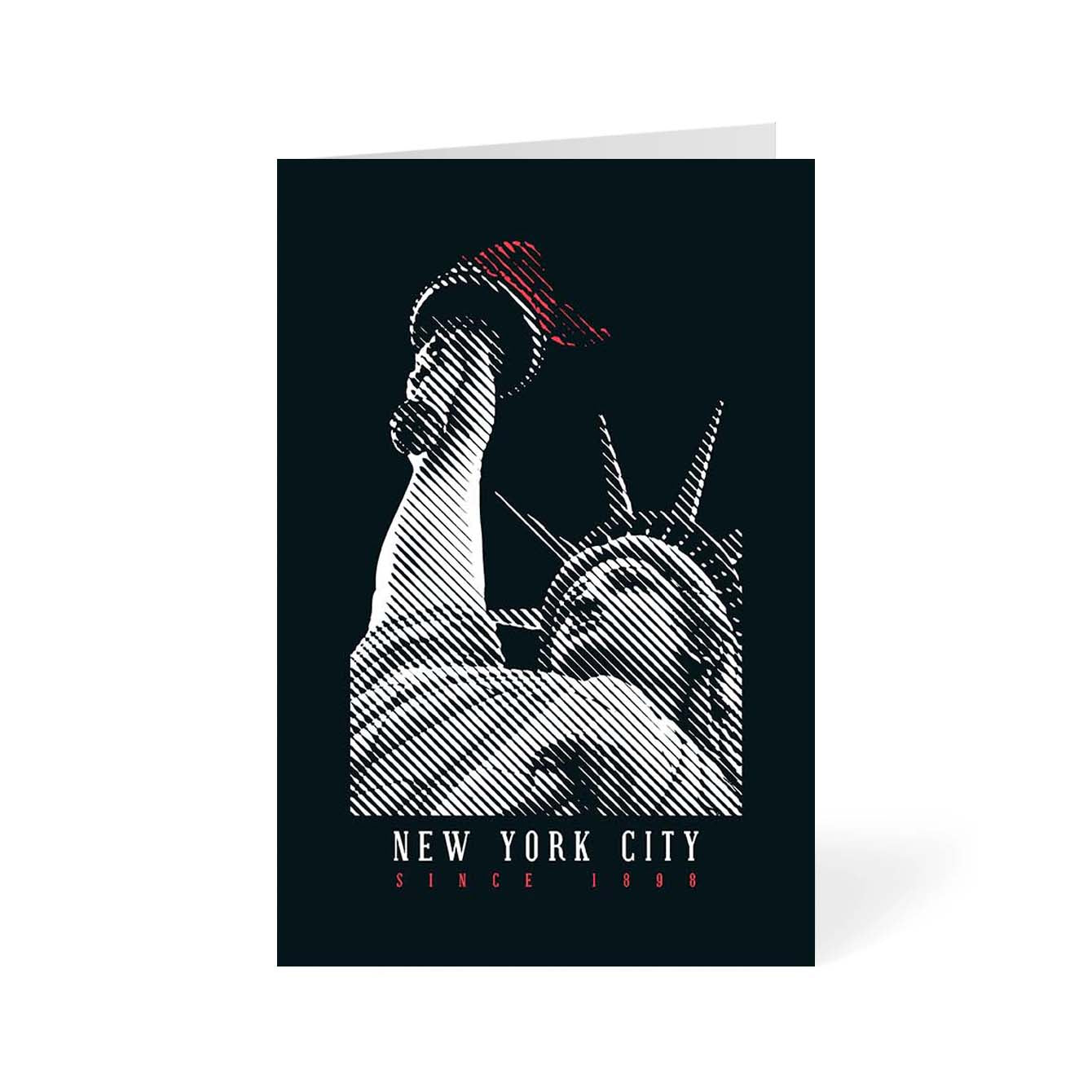 New York City Cities Greeting Card Online