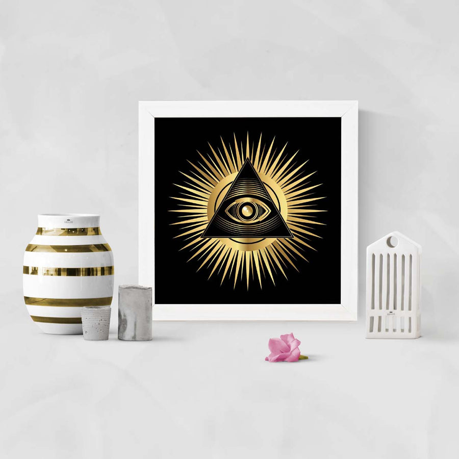 Eye of Providence Framed Poster