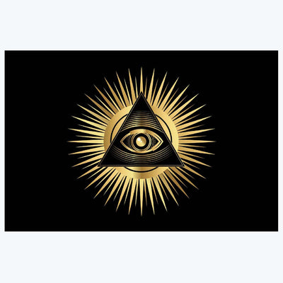 Eye of Providence Sign Posters