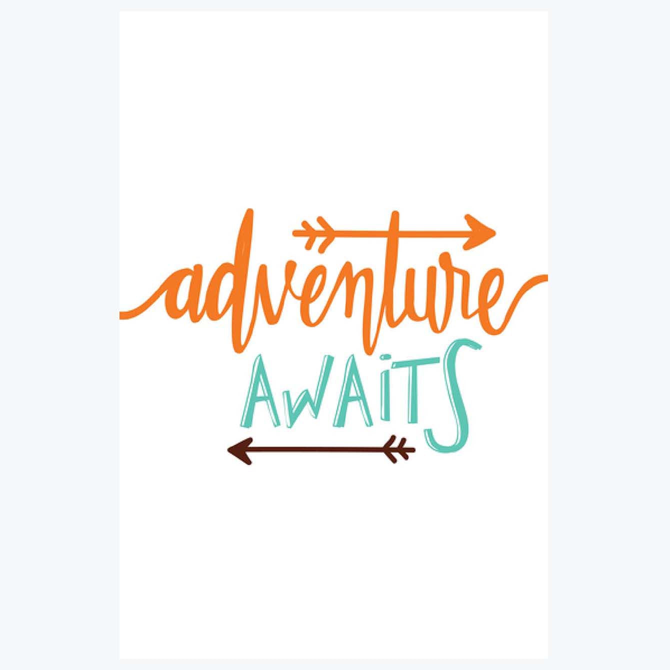 Adventure Awaits Doodle Posters