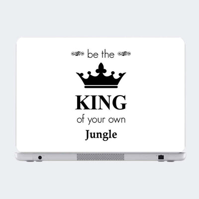 Be The King Motivational Laptop Skin Online