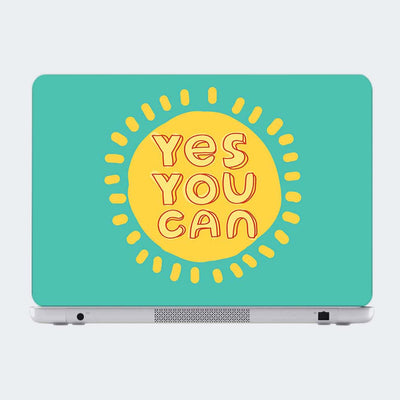 Yes You can Motivational Laptop Skin Online