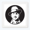 Bhagat Singh Motivational Glass Framed Posters & Artprints