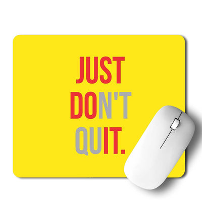 Just Do It Mouse Pad