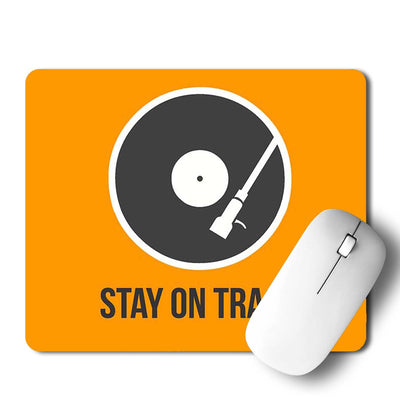 Stay On Track Mouse Pad