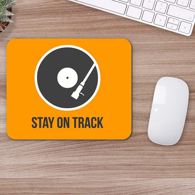 Buy Stay On Track Motivational Mouse Pads Online