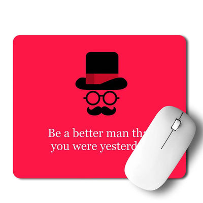 Better Man Mouse Pad