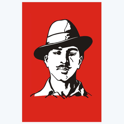 Bhagat Singh Motivational Posters