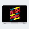 Work For It Motivational Laptop Skin Online
