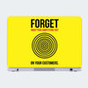 Focus On Your Customers Motivational Laptop Skin Online