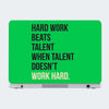Hard Work Talent Motivational Laptop Skin Online