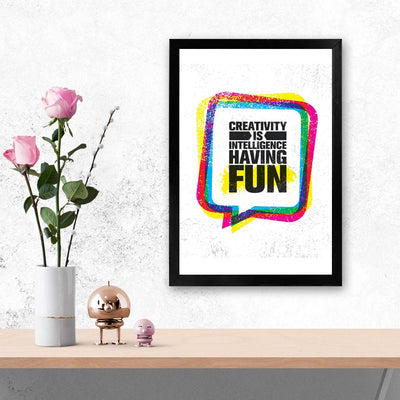 Having Fun Framed Poster