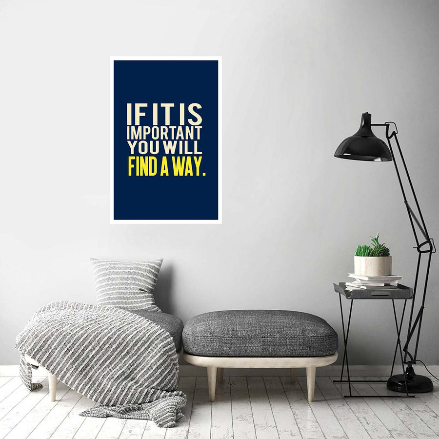Find A Way Motivational Posters