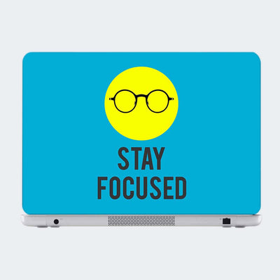 Stay Focused Motivational Laptop Skin Online
