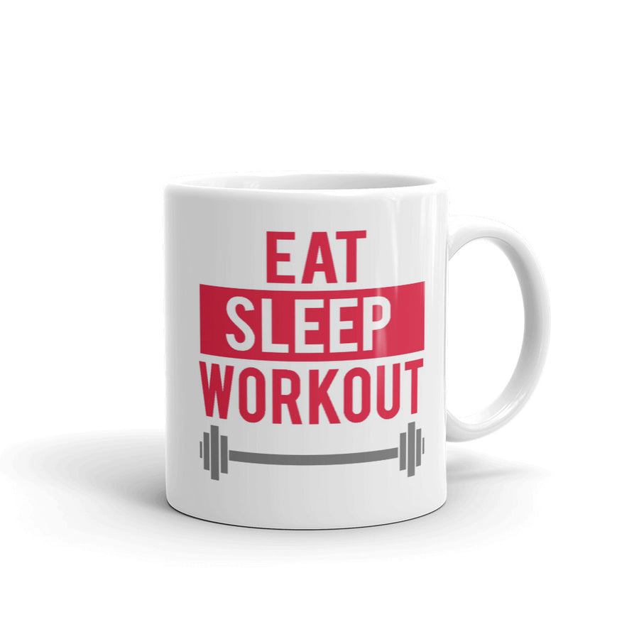 Eat Sleep Workout Mug