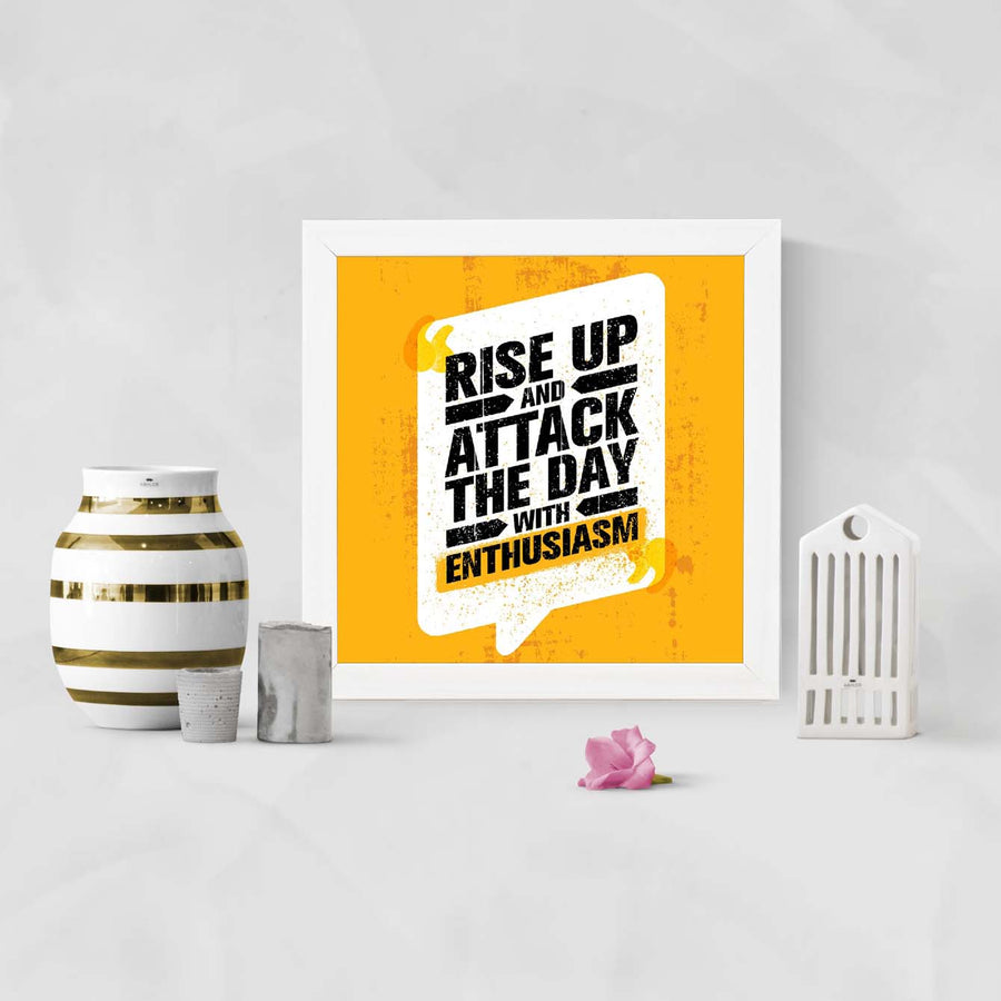 Rise up Framed Poster