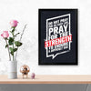 Strength Gym Glass Framed Posters & Artprints