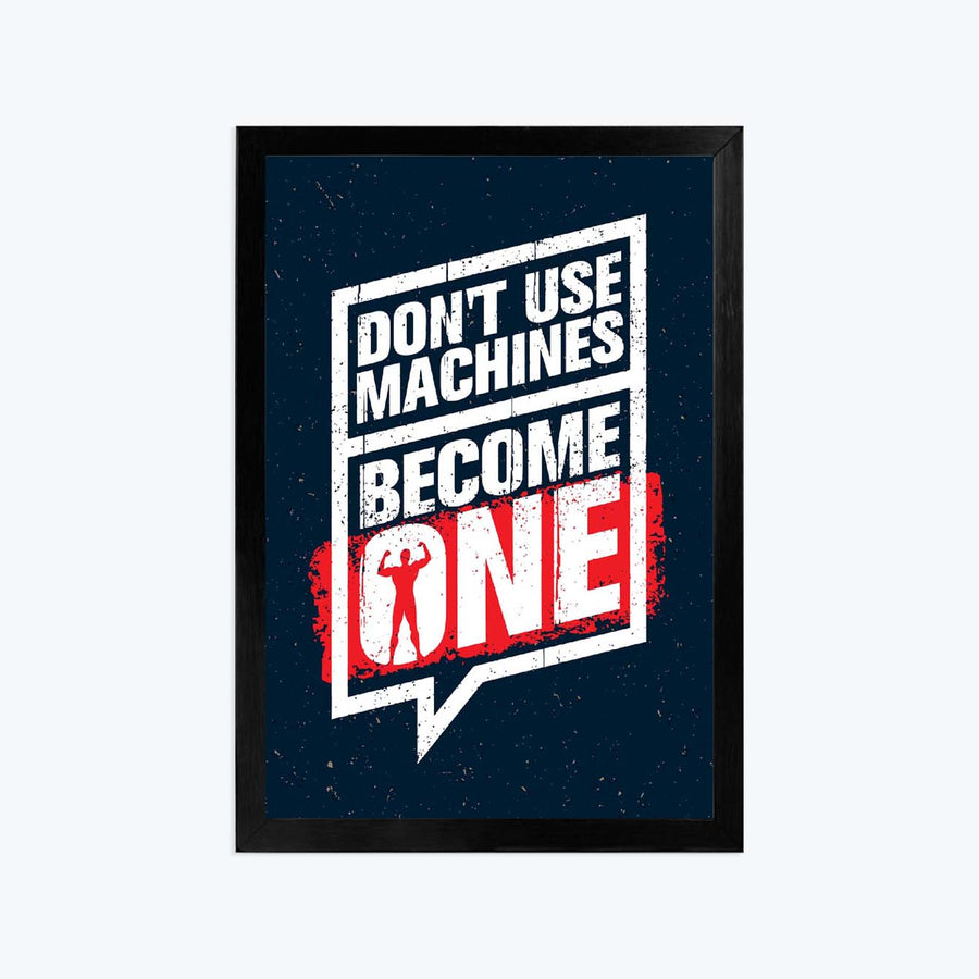 Become one Framed Poster
