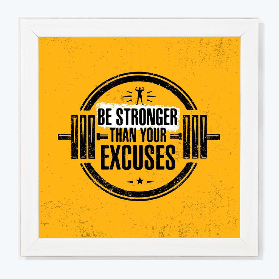 Be stronger Framed Poster