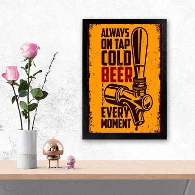 Beer Alcohol Glass Framed Posters & Artprints