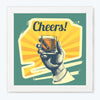 Cheers Alcohol Glass Framed Posters & Artprints