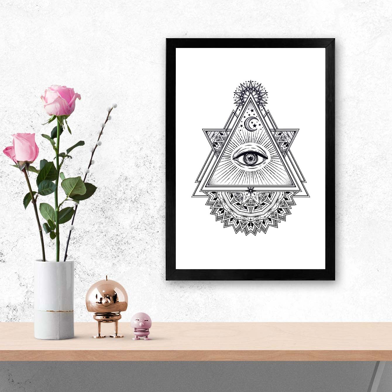 Secret Society Framed Poster