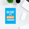 Oh Shit It's Monday Comic Post Cards Online