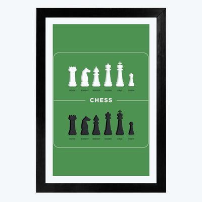 Chess Framed Poster