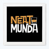 Neat munda Alcohol Glass Framed Posters & Artprints