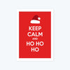 Keep calm and ho hi ho Framed Poster