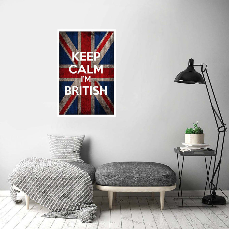Keep calm its British