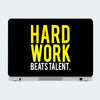 Hard Work Motivational Laptop Skin Online