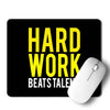 Hard Work Mouse Pad