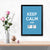 Keep calm and ctrl Z Framed Poster