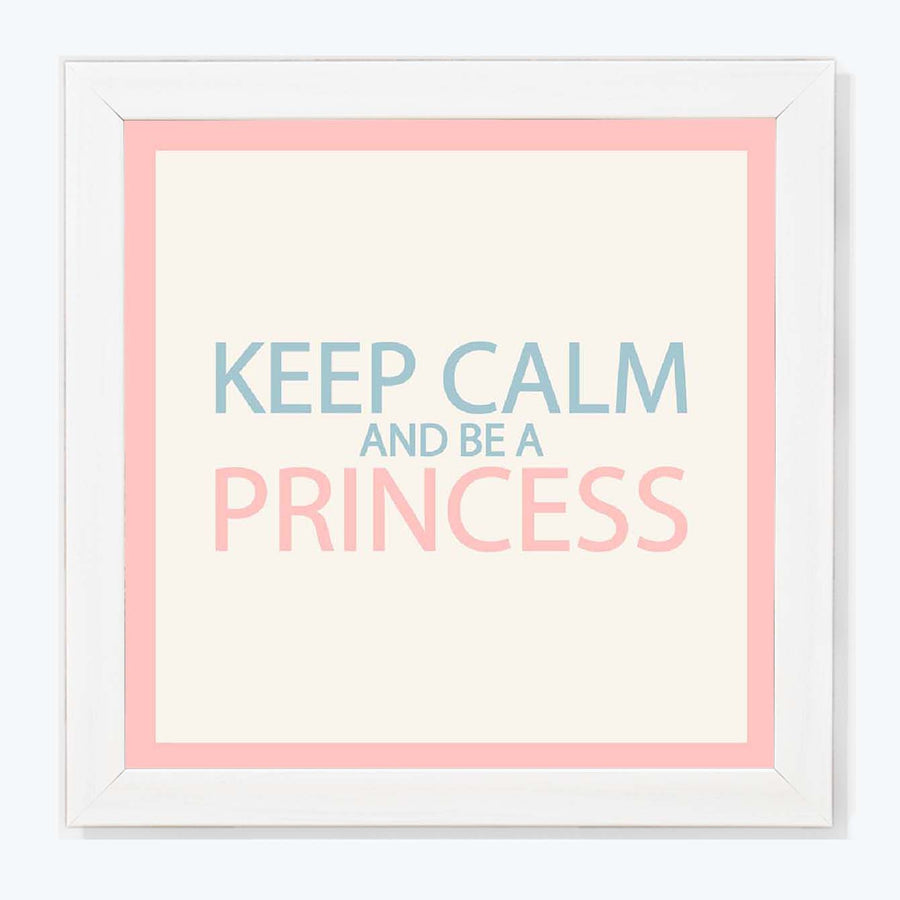 be a princess Framed Poster