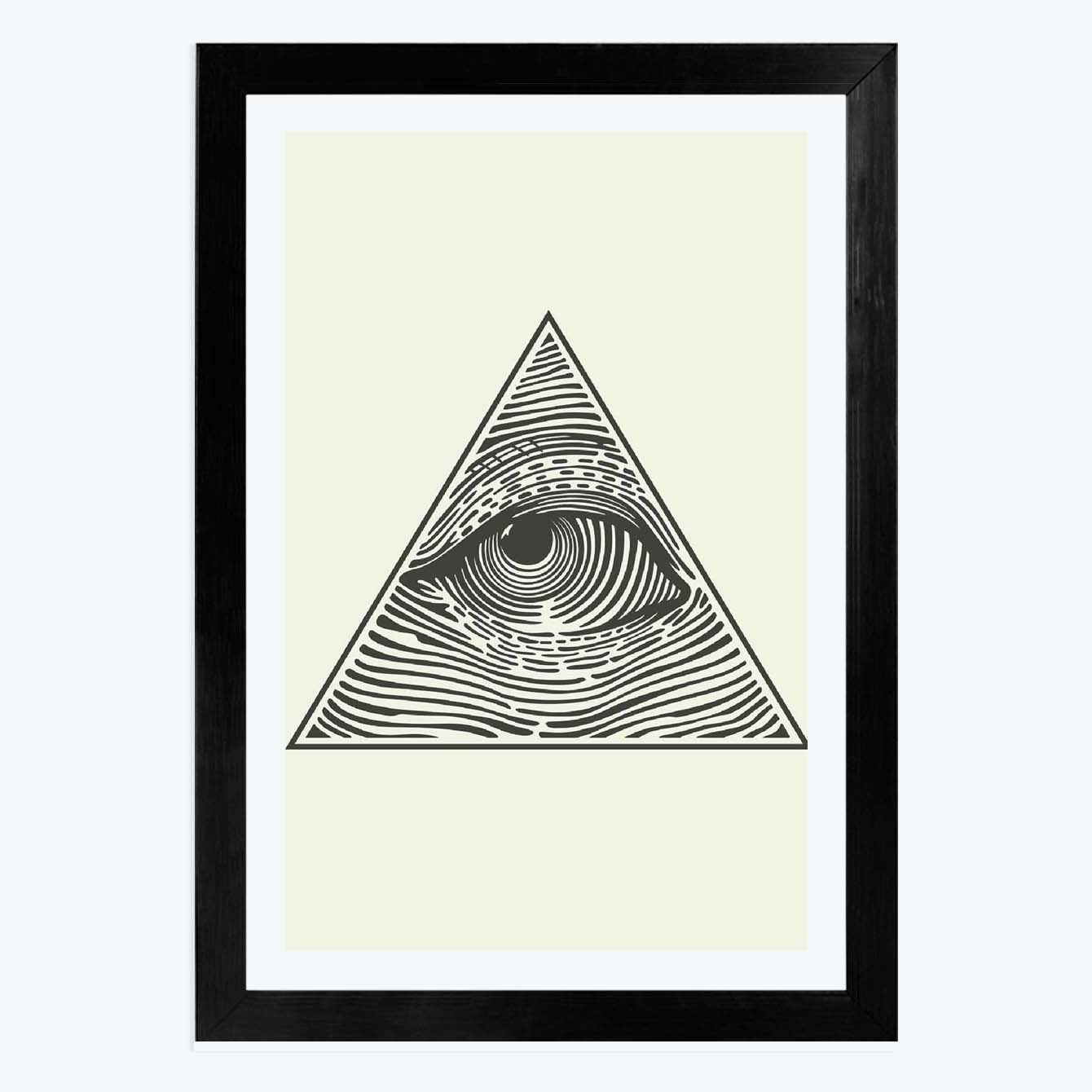 Eyes Framed Poster