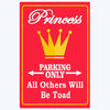 Princess Parking Only Comic Posters