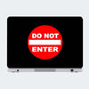 Do Not Enter Humour Laptop Skin Online