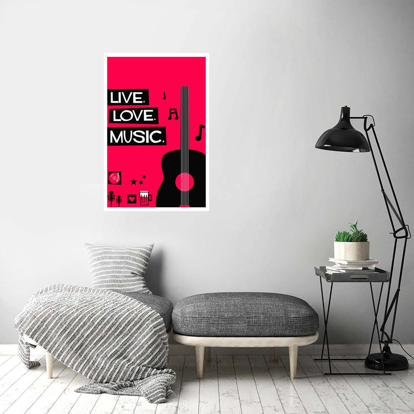 Live love music Music Posters