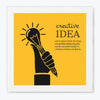 Create idea Office Glass Framed Posters & Artprints