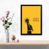 Create idea Framed Poster