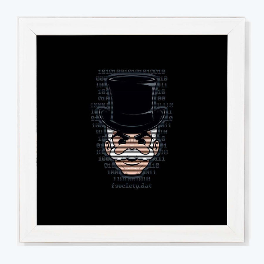 anonymous Framed Poster