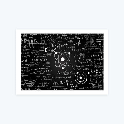 Mathematics Science Framed Poster