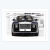 Rolls-Royce Car Framed Poster