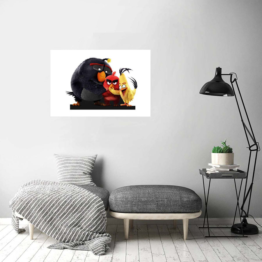 Angry bird Cartoon Posters